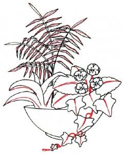 Как нарисовать Цветочную композицию поэтапно в 7 шагов. Шаг 5
