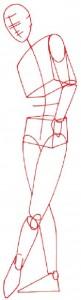 Как нарисовать Мужчину в костюме поэтапно в 5 шагов 1