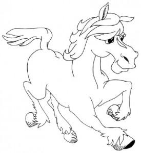 Как нарисовать Пони поэтапно в 5 шагов 1