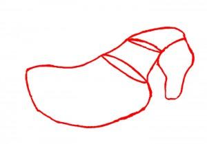 Как нарисовать Лошадь поэтапно в 4 шага 2