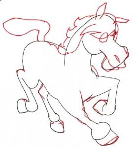 Как нарисовать Пони поэтапно в 5 шагов 4