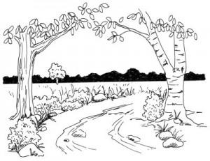 Как нарисовать Весну поэтапно в 5 шагов 1