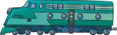 Как нарисовать Поезд поэтапно в 7 шагов