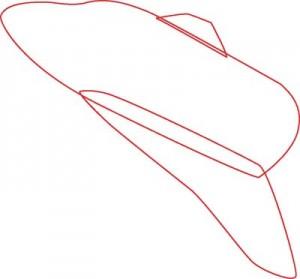Как нарисовать Ракету поэтапно в 7 шагов 2