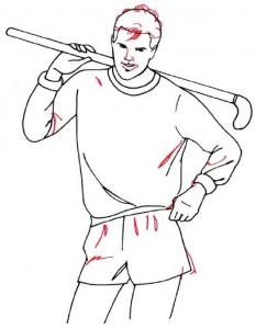 Как нарисовать Хоккеиста поэтапно в 5 шагов 5