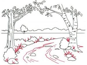 Как нарисовать Весну поэтапно в 5 шагов 5