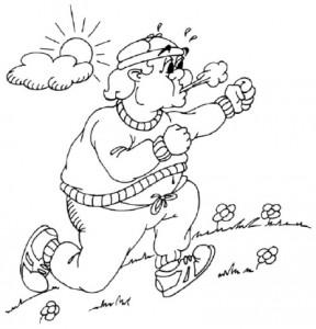 Как нарисовать Толстяка поэтапно в 5 шагов 6