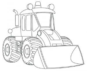 Как нарисовать Снегоуборочную машину поэтапно в 9 шагов 10
