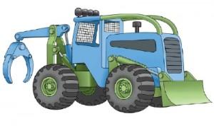 Как нарисовать машину. Трактор поэтапно в 10 шагов 1