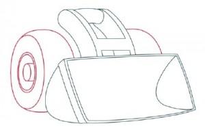 Как нарисовать Снегоуборочную машину поэтапно в 9 шагов 3