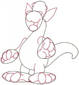 Как рисовать дракона поэтапно в 5 шагов 3