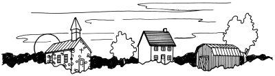 Как нарисовать деревню поэтапно в 5 шагов