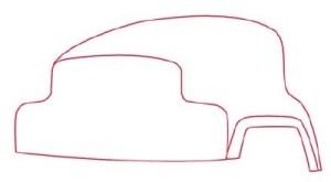 Как рисовать машины. Цементовоз поэтапно в 10 шагов 2