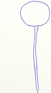 Как нарисовать Розу поэтапно в 5 шагов 2