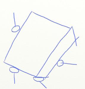 Как нарисовать Спанч Боба поэтапно в 6 шагов 3