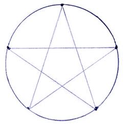 Как нарисовать звезду поэтапно в 5 шагов 3