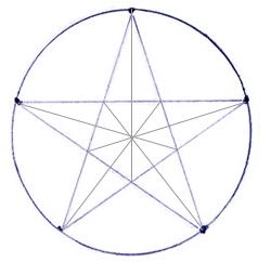 Как нарисовать звезду поэтапно в 5 шагов 4