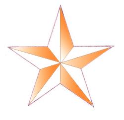 Как нарисовать звезду поэтапно в 5 шагов 7