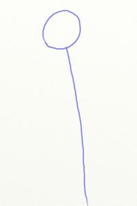 Как нарисовать ромашки поэтапно в 5 шагов 2