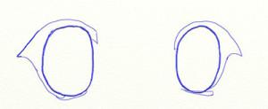 Как нарисовать глаза поэтапно в 5 шагов 4