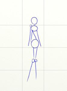 Как нарисовать Винкс поэтапно в 7 шагов 2